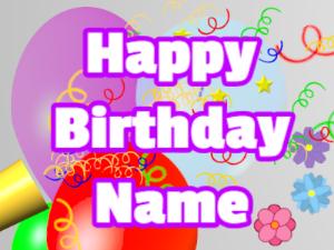 Horn, noodles, balloon, block, white, purple