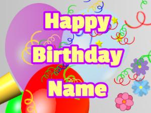 Horn, noodles, balloon, block, yellow, purple