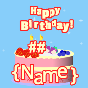 Birthday Card GIF 39