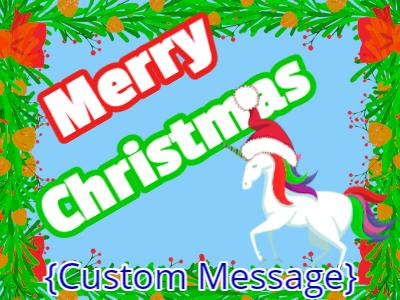 Santa Hat Christmas Animals