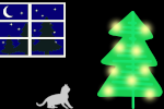 Make gif: christmas-cat-tree-2
