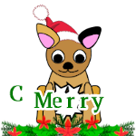 Make gif: christmas-puppy-1