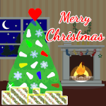 Decorate a Christmas Tree GIF