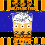 Make gif: halloween-milkshake