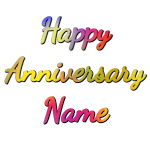Make gif: happy-anniversary-1