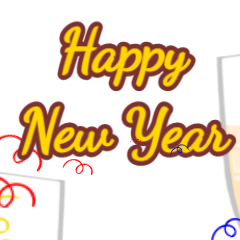 2021 New Year champagne