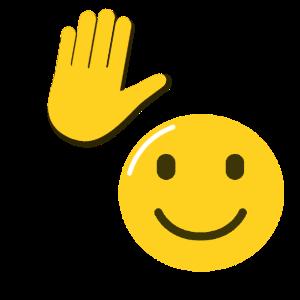 Raising Hand Emoji