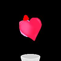 Valentine's Milkshake Sticker