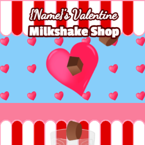 Valentine's Milkshake